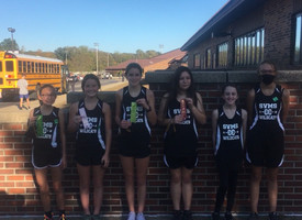 Girls' Cross Country - Banks Champions