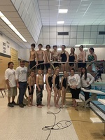 Swim and Dive Team are SVMS Invitational Champions