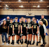 8th Grade Boys' Basketball Champs at North Vermillion Invitational!
