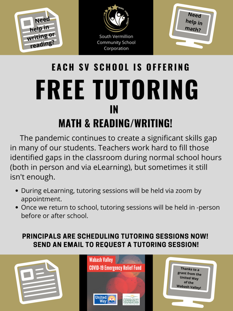 SVCS Tutoring 2020
