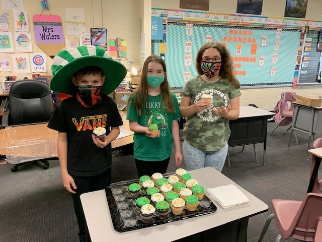 PTO treats for St. Patrick's Day!